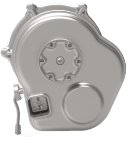 EV transmission for CO-axial