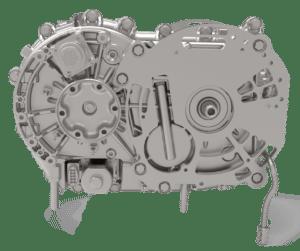 EV-transmission in offset